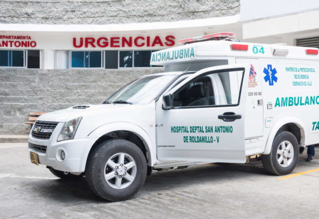 Ambulancia en Urgencias